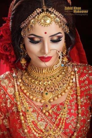 portfolio zahid khan makeover bdwedding